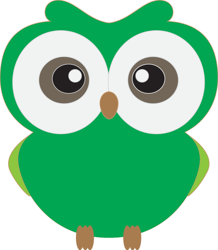 Cute Owl Clipart Owl Clip Art Elements Personal And Mercial