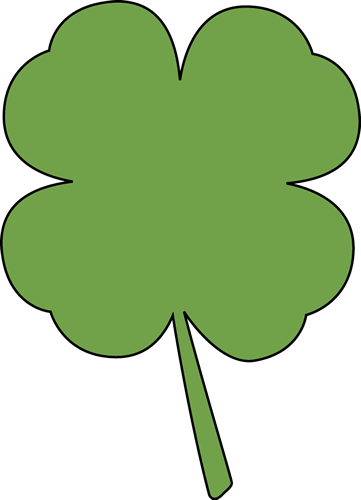 Four Leaf Clover Clip Art - Four Leaf Clover Image
