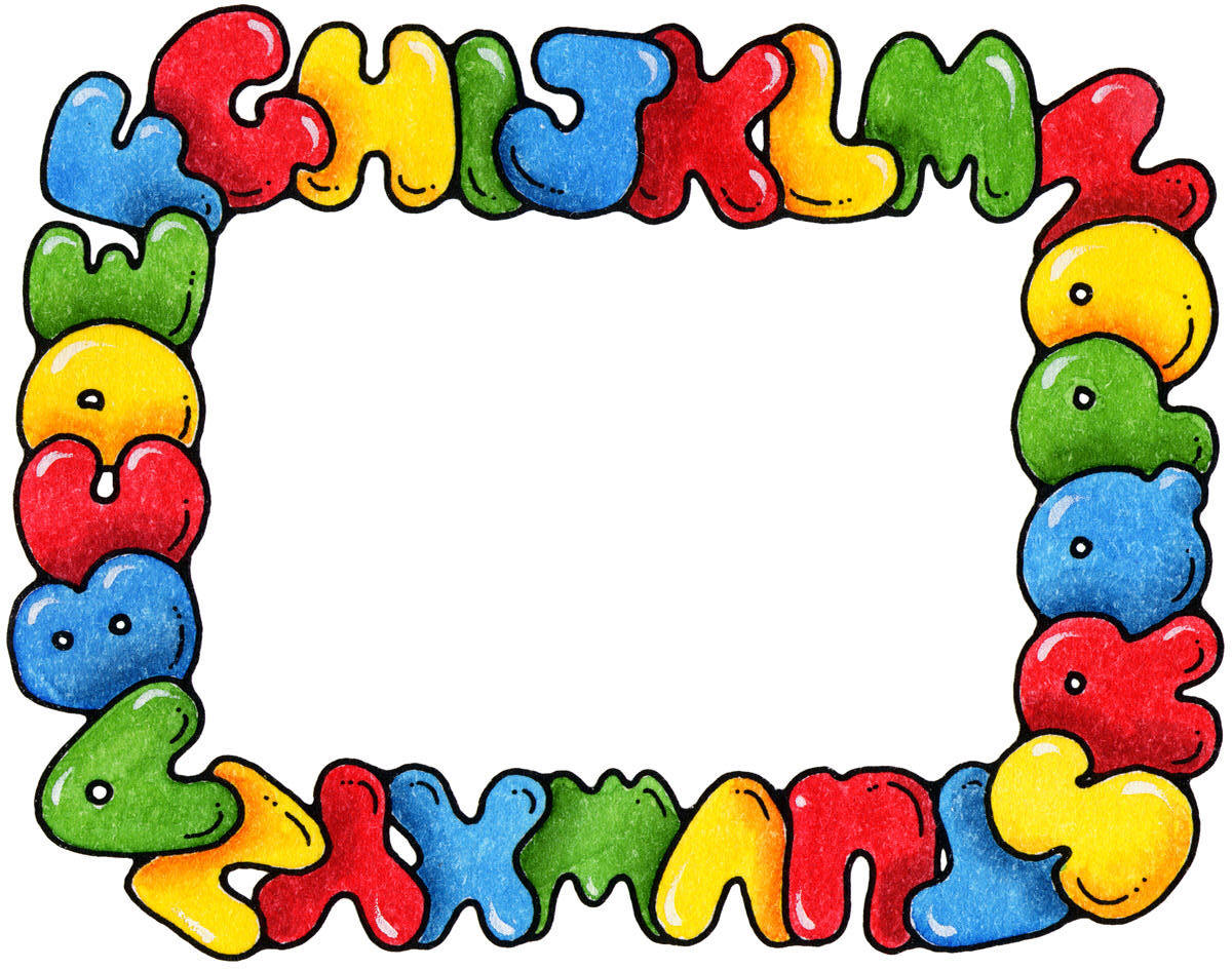 Preschool Border Clipart | Clipart library - Free Clipart Images