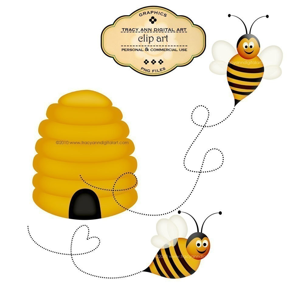 Popular items for bee clipart