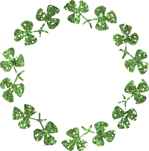 Four leaf clover Graphic Animated Gif - Graphics four leaf clover