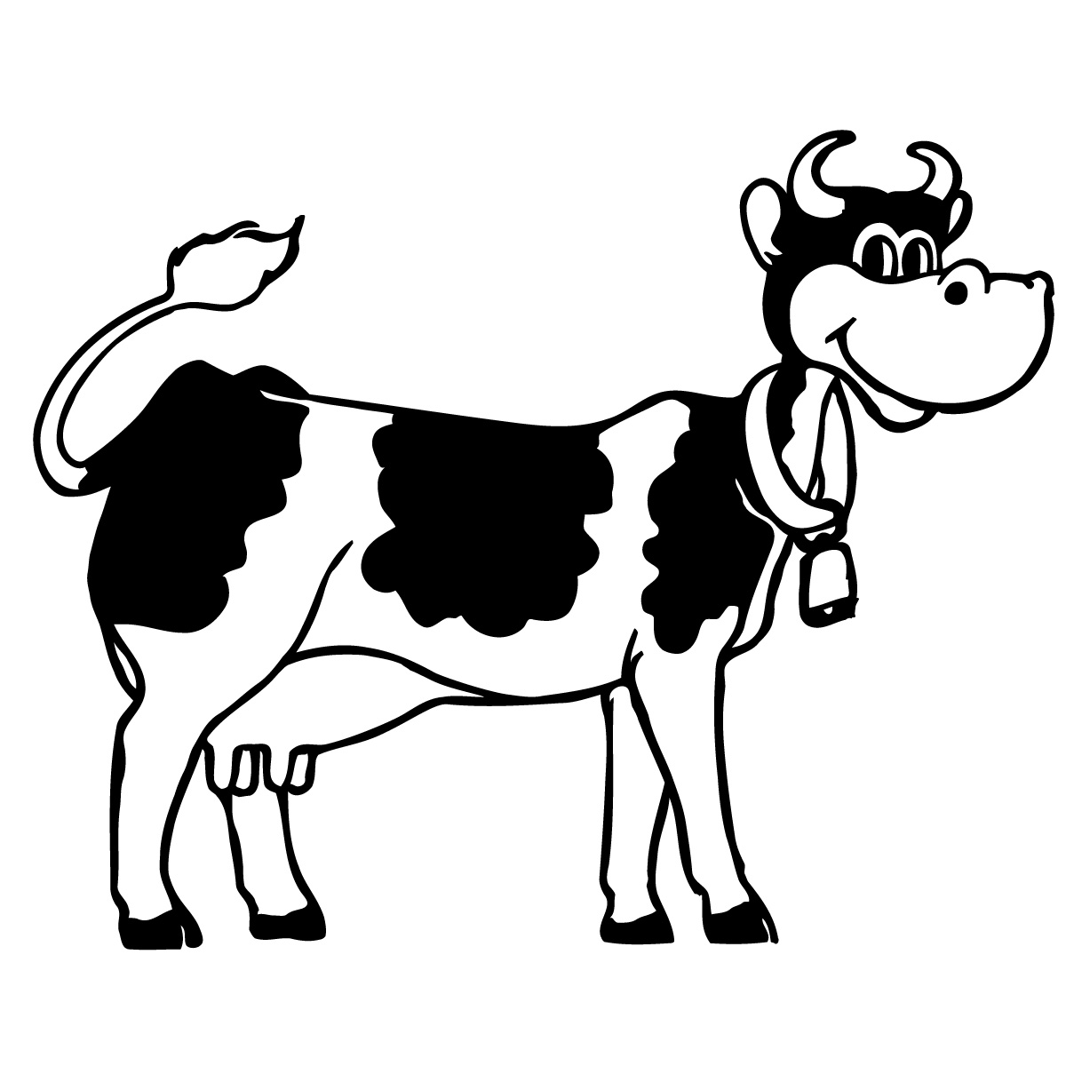 Pictures Of Cow - Clipart library