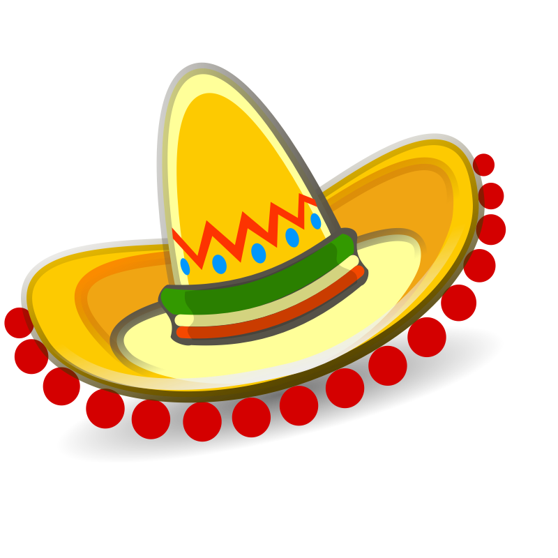 Mexican Sombrero Clip Art Free Car Pictures