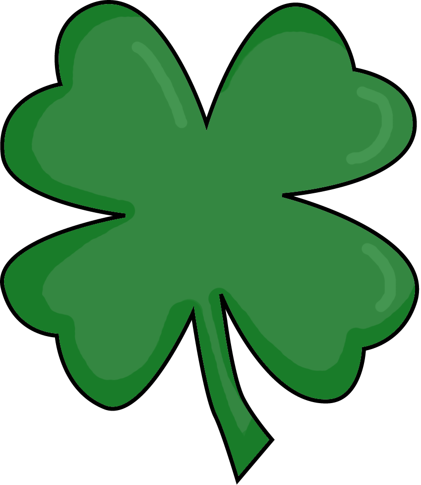 Picture Of Four Leaf Clover - Clipart library