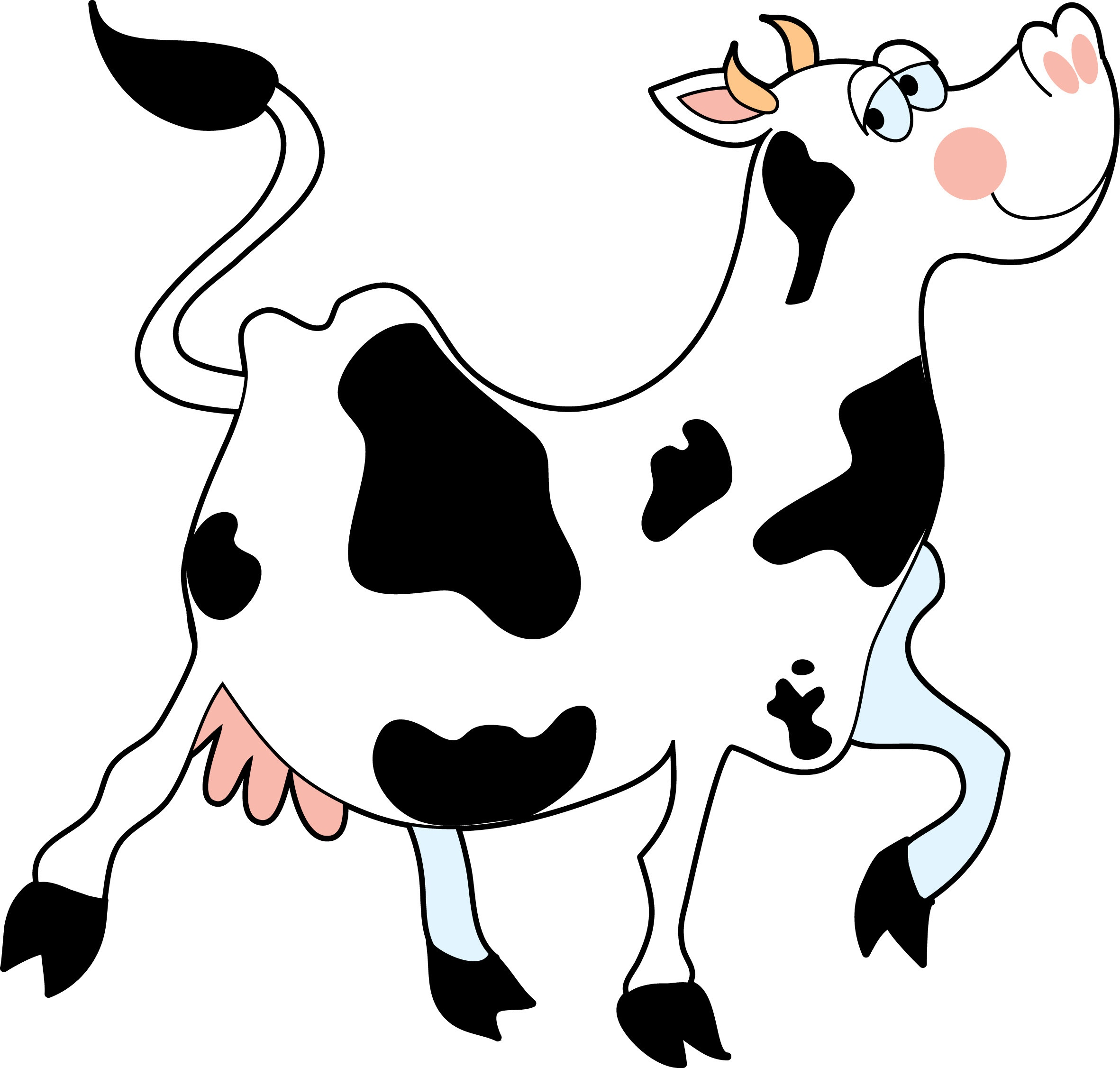Cute Cow Clipart | Clipart library - Free Clipart Images