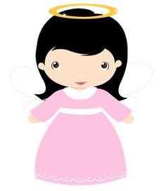 Girl angel clipart