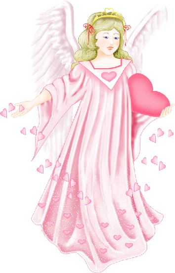 Angel with Heart in Pink Clipart?m=1372111200