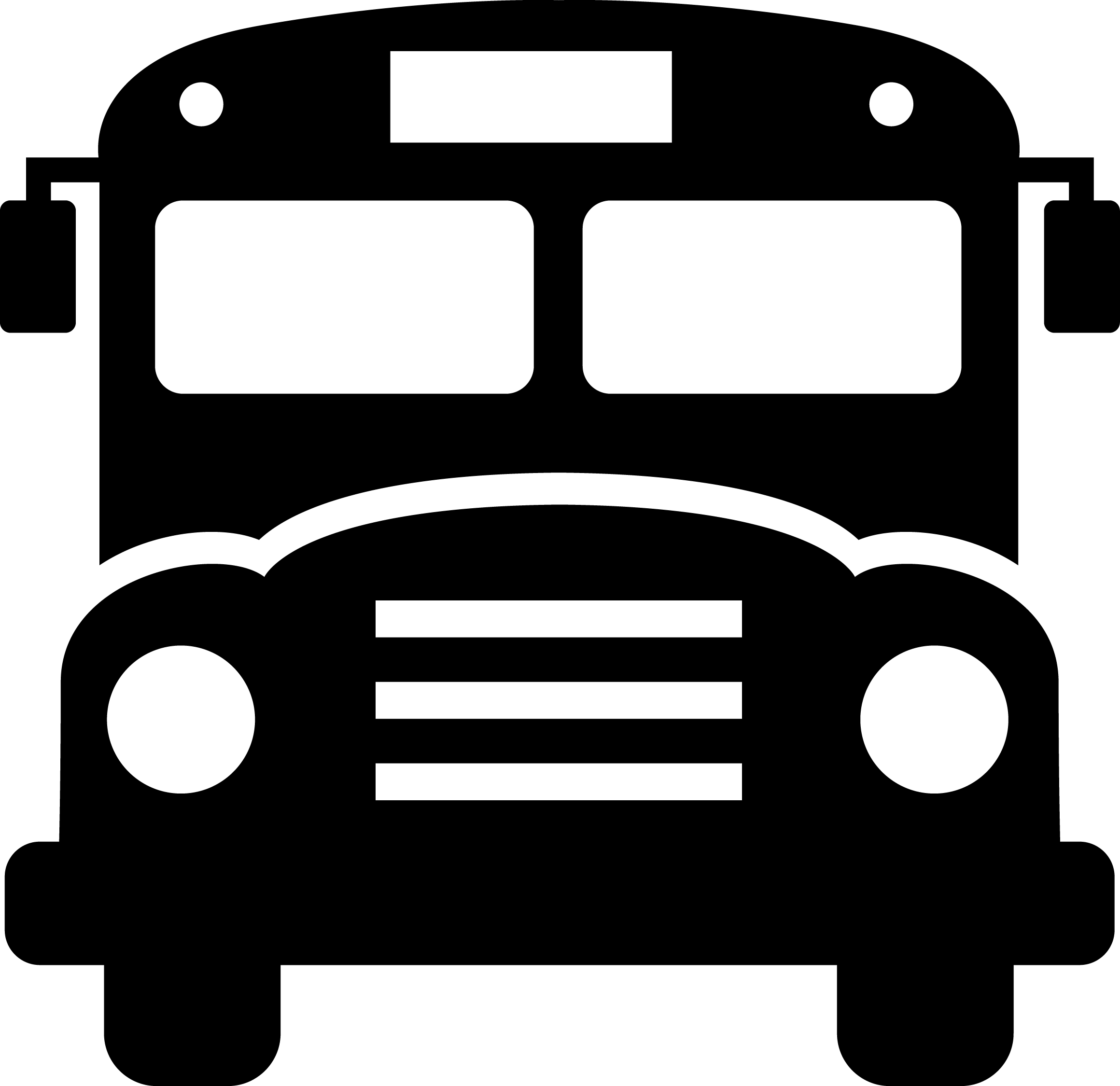 Clipart Of Front Of School Bus School