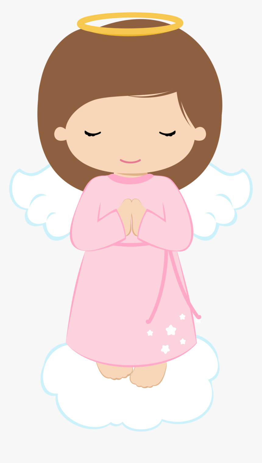 Confirmation Clipart Pink Baptism - Angel Girl Clipart, HD Png